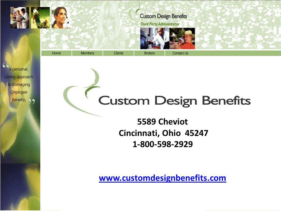 Custom Design Benefits, Inc.
