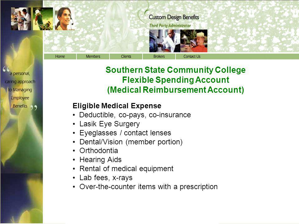 Southern State Community College Flexible Spending Account
