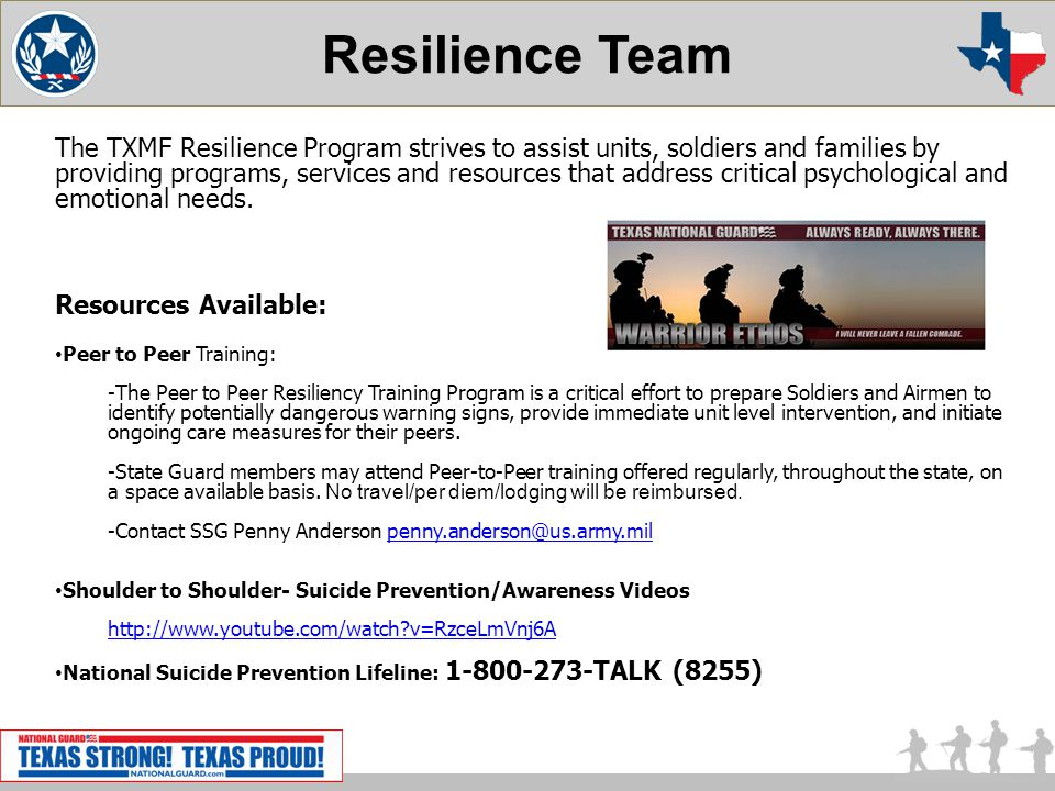 Resilience Team