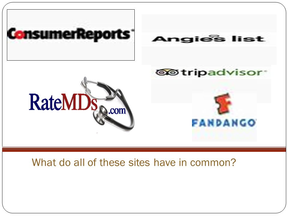 What do all of these sites have in common