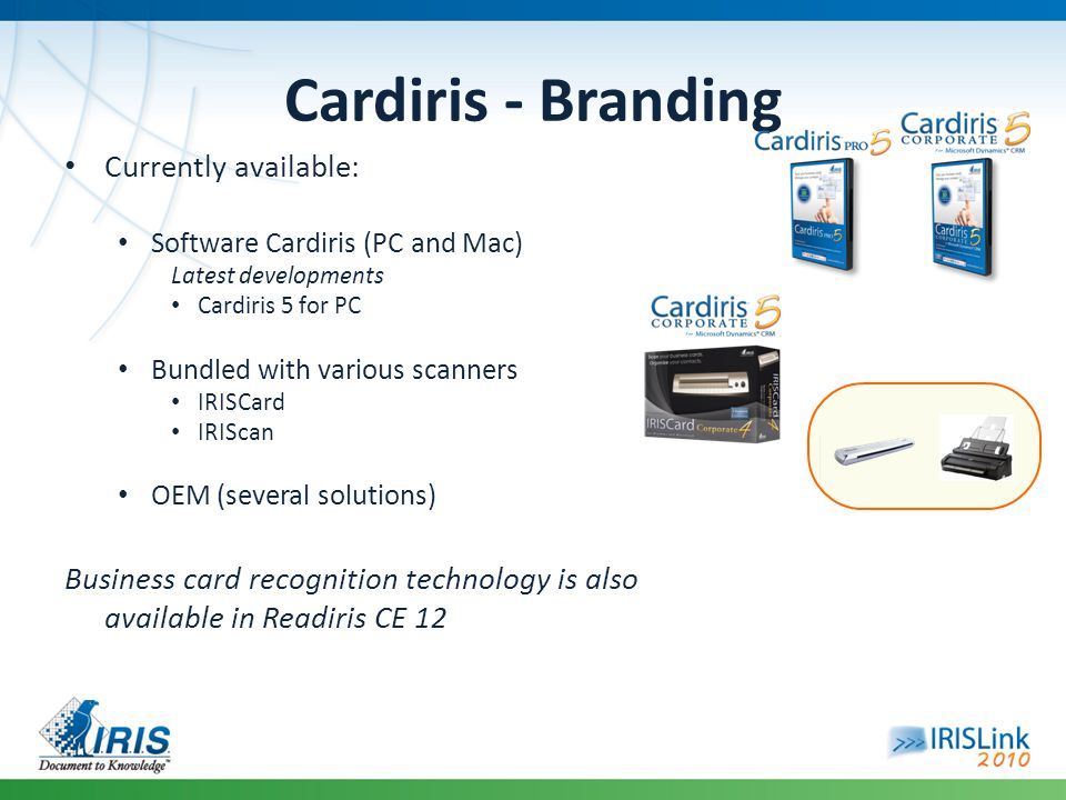 Cardiris - Branding Currently available: