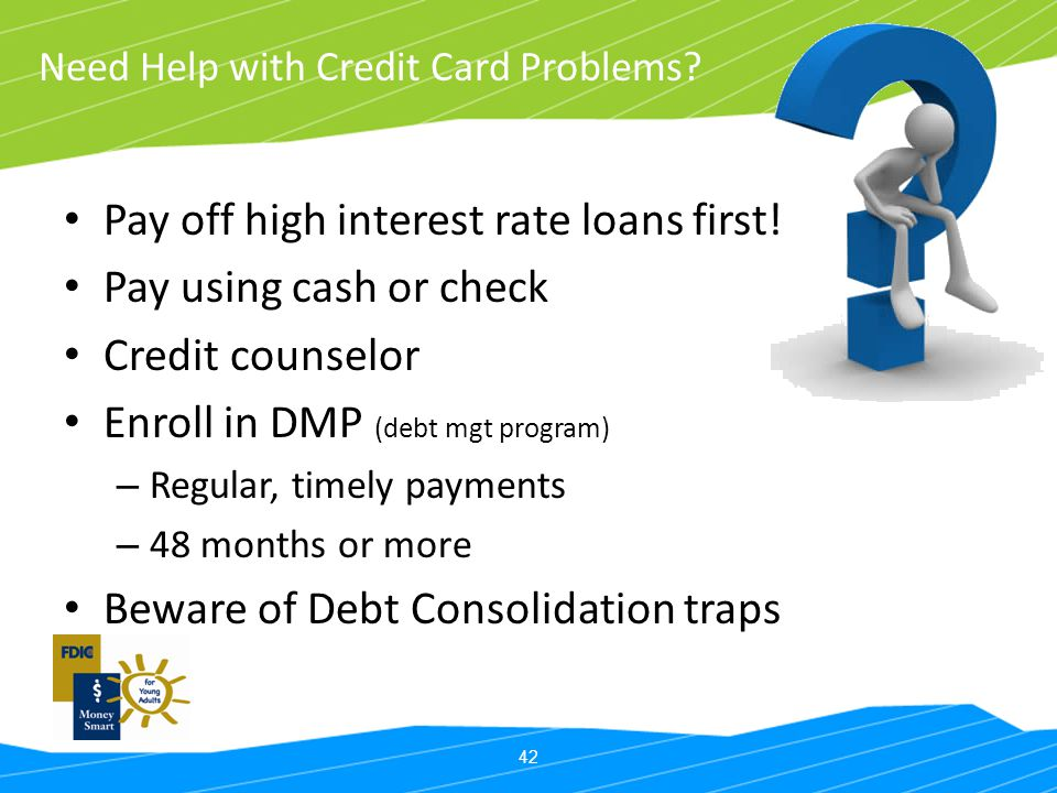 Need Help with Credit Card Problems
