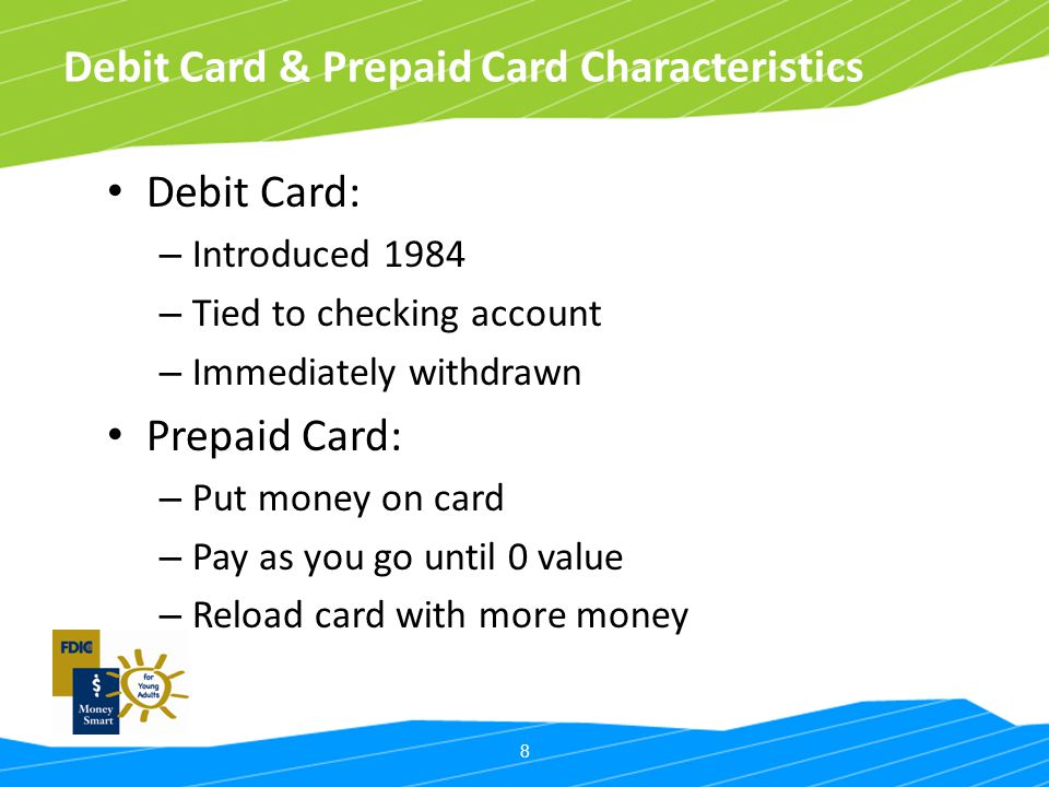 Debit Card & Prepaid Card Characteristics