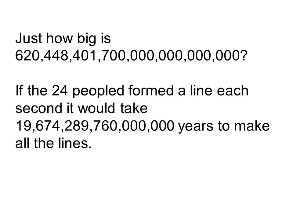 Just how big is 620,448,401,700,000,000,000,000.