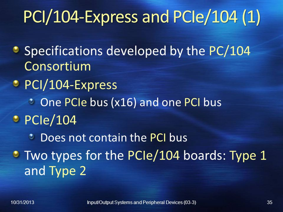 PCI/104-Express and PCIe/104 (1)