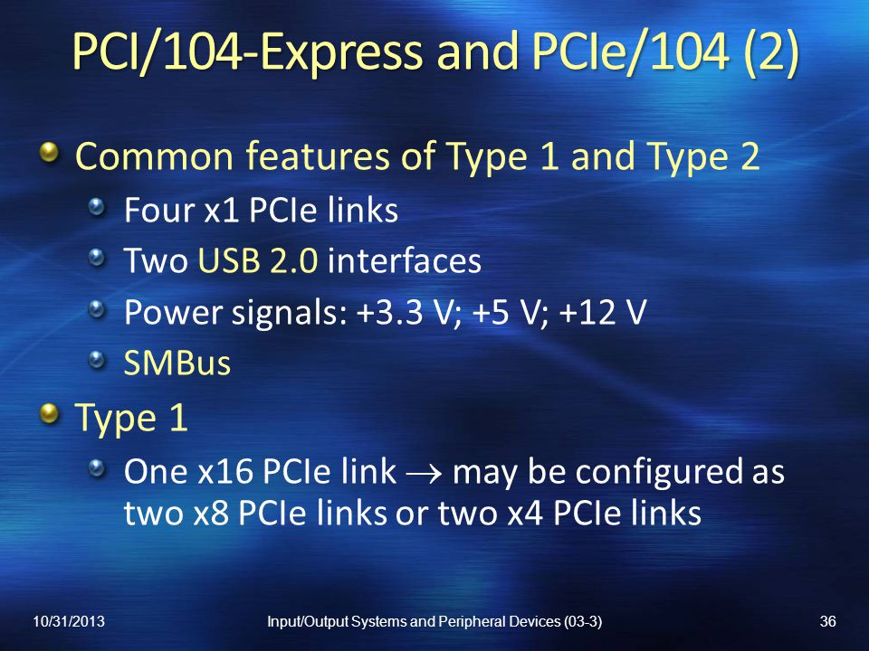 PCI/104-Express and PCIe/104 (2)