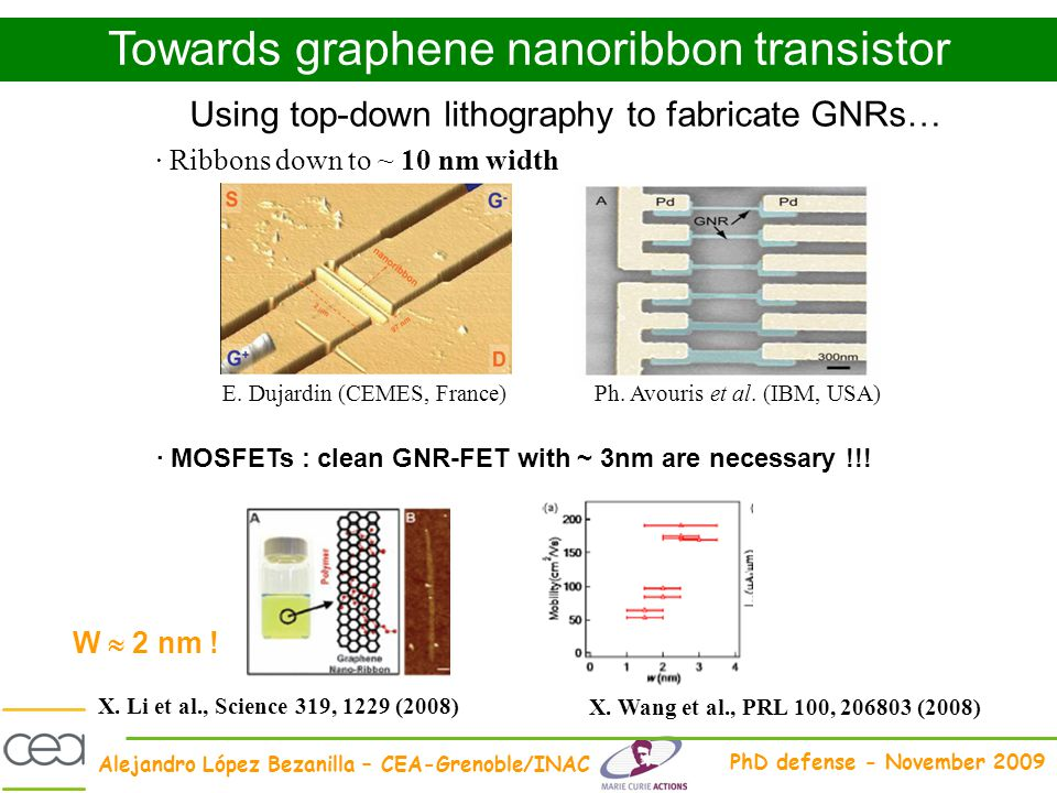 Towards graphene nanoribbon transistor