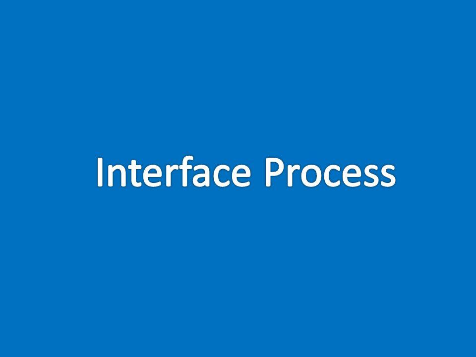 Interface Process