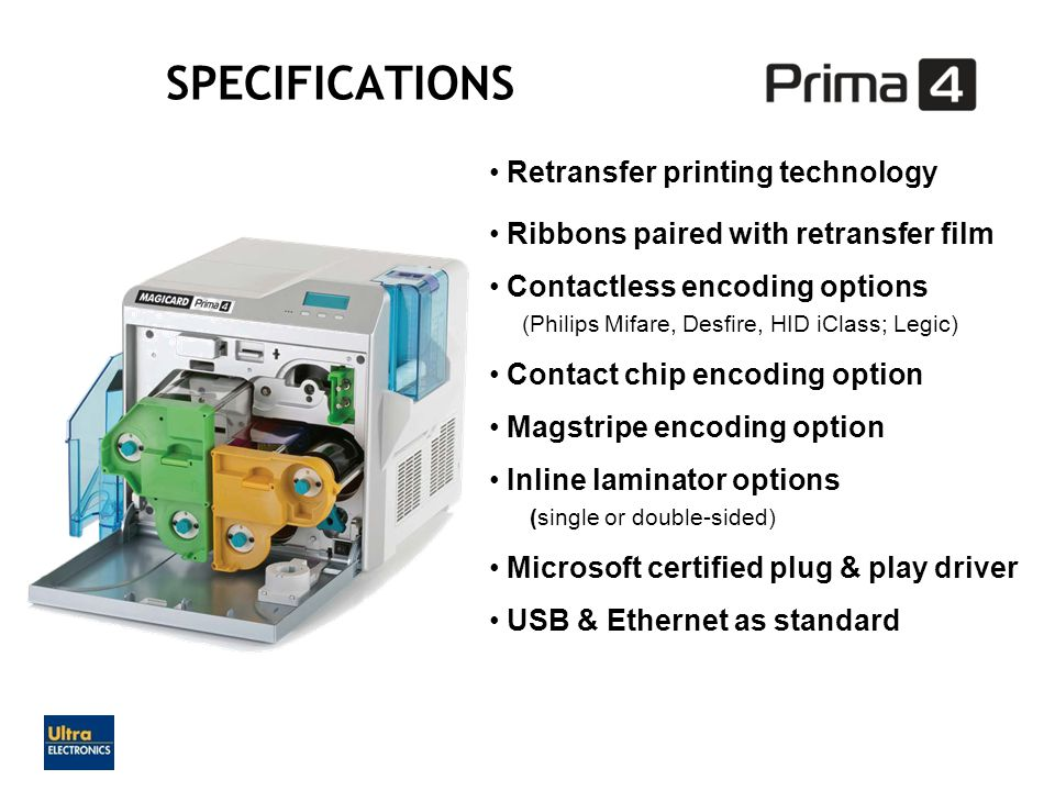 Retransfer printing technology Ribbons paired with retransfer film