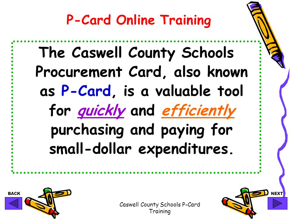 P-Card Online Training