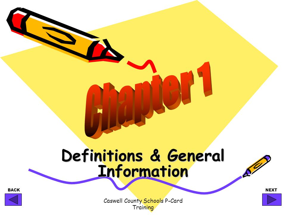 Definitions & General Information