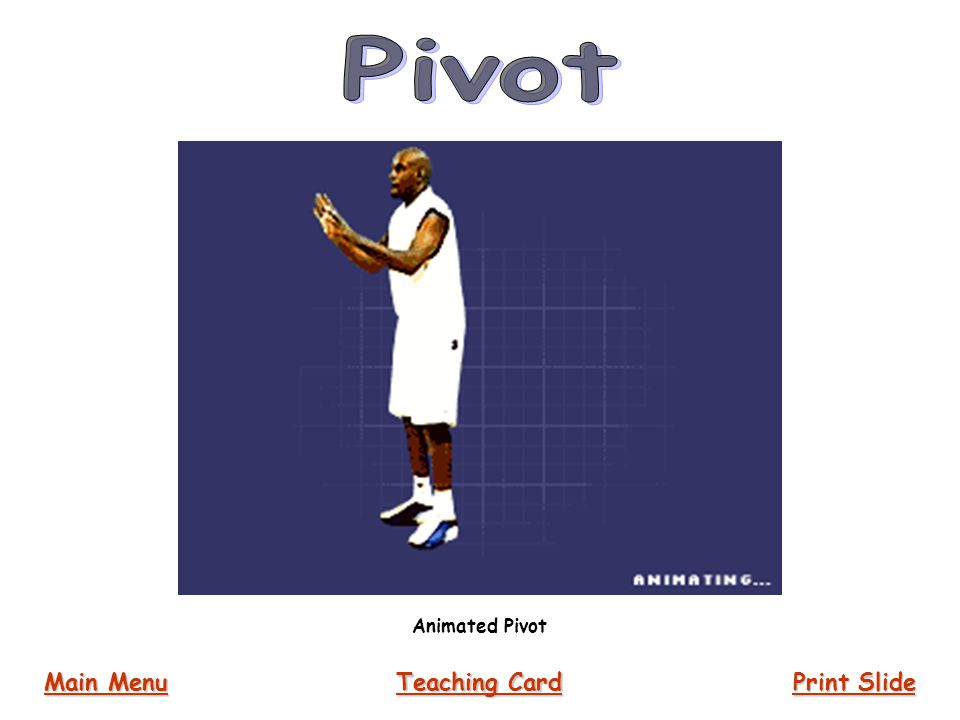 Pivot Animated Pivot Main Menu Teaching Card Print Slide