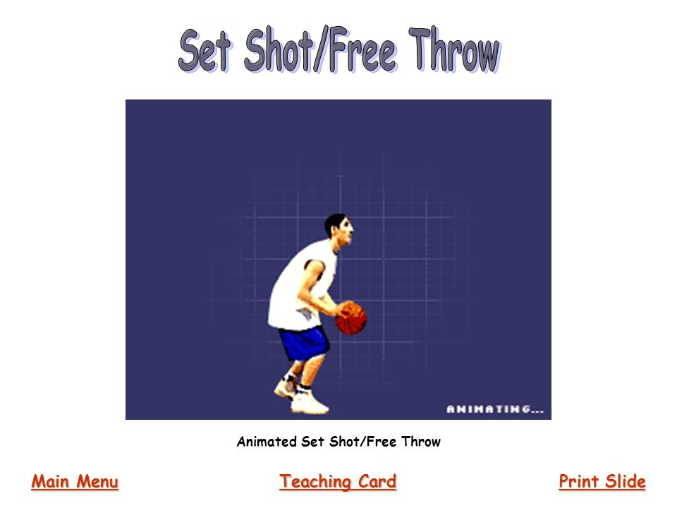 Animated Set Shot/Free Throw