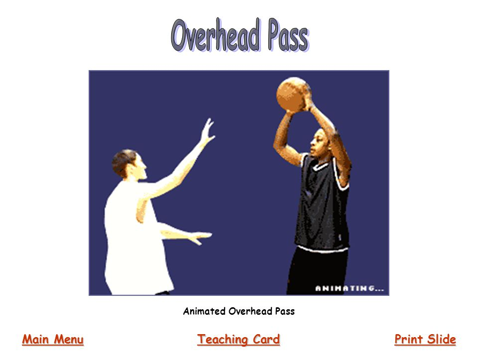 Animated Overhead Pass