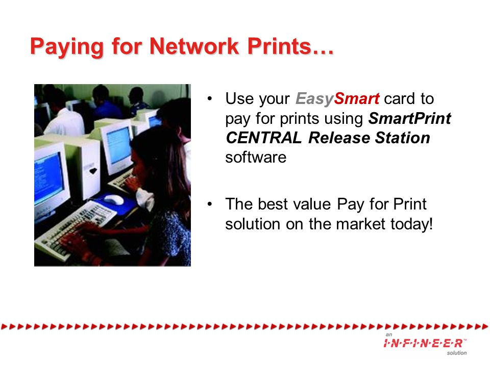 Paying for Network Prints…