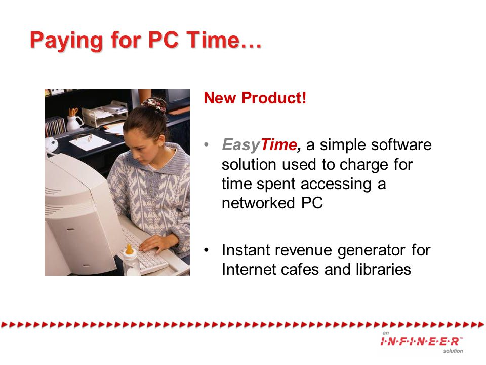 Paying for PC Time… New Product!