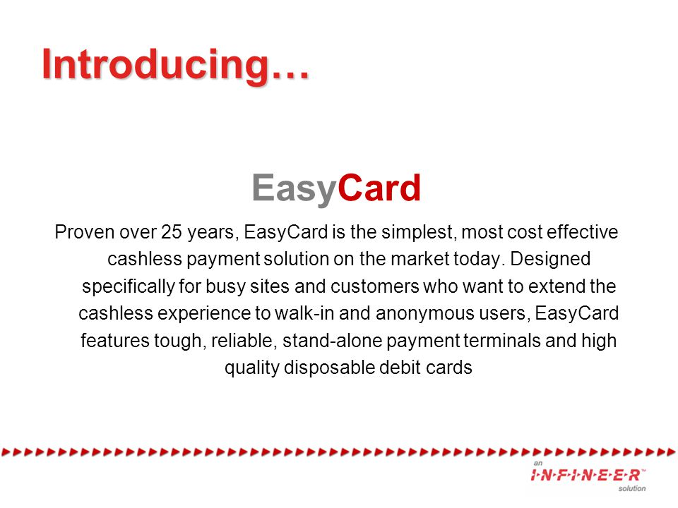 Introducing… EasyCard