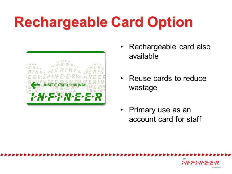 Rechargeable Card Option