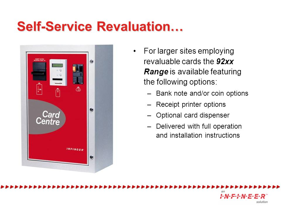 Self-Service Revaluation…