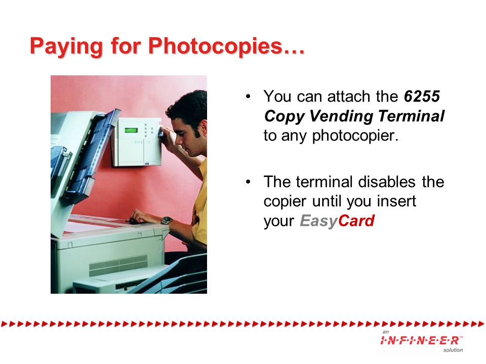 Paying for Photocopies…