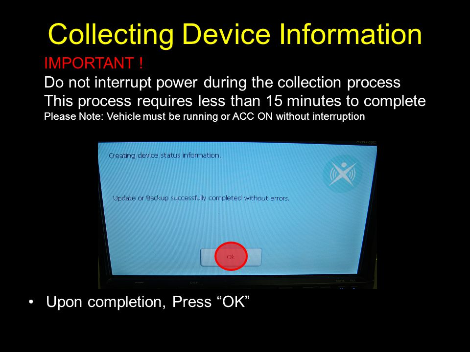 Collecting Device Information