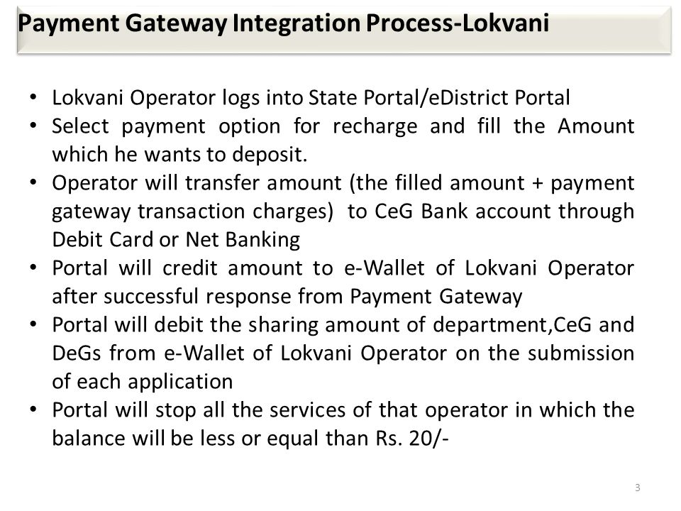 Payment Gateway Integration Process-Lokvani