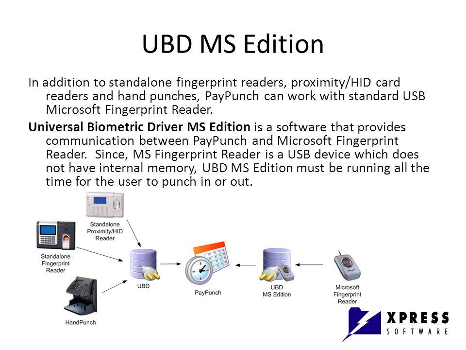 UBD MS Edition