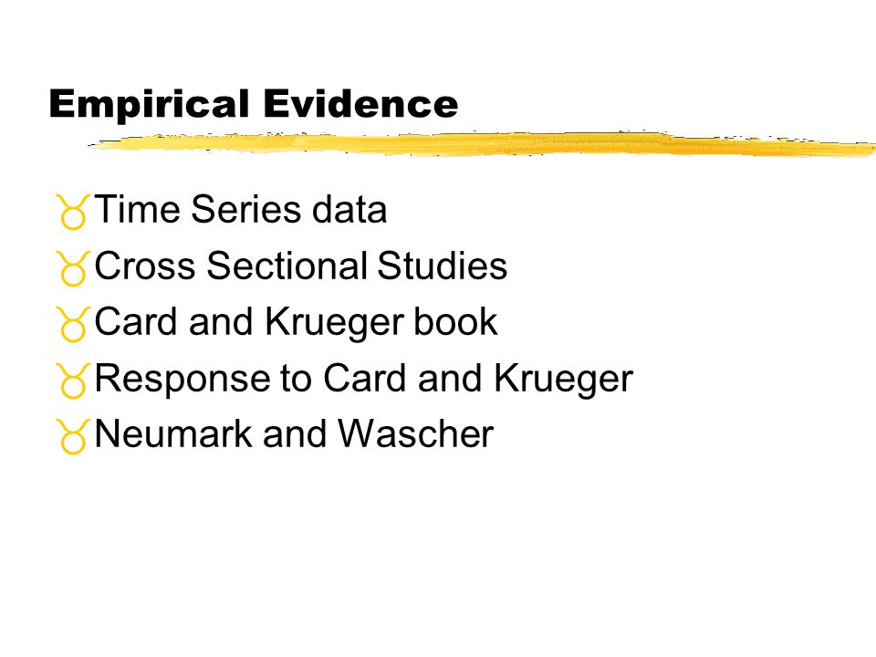 Cross Sectional Studies Card and Krueger book