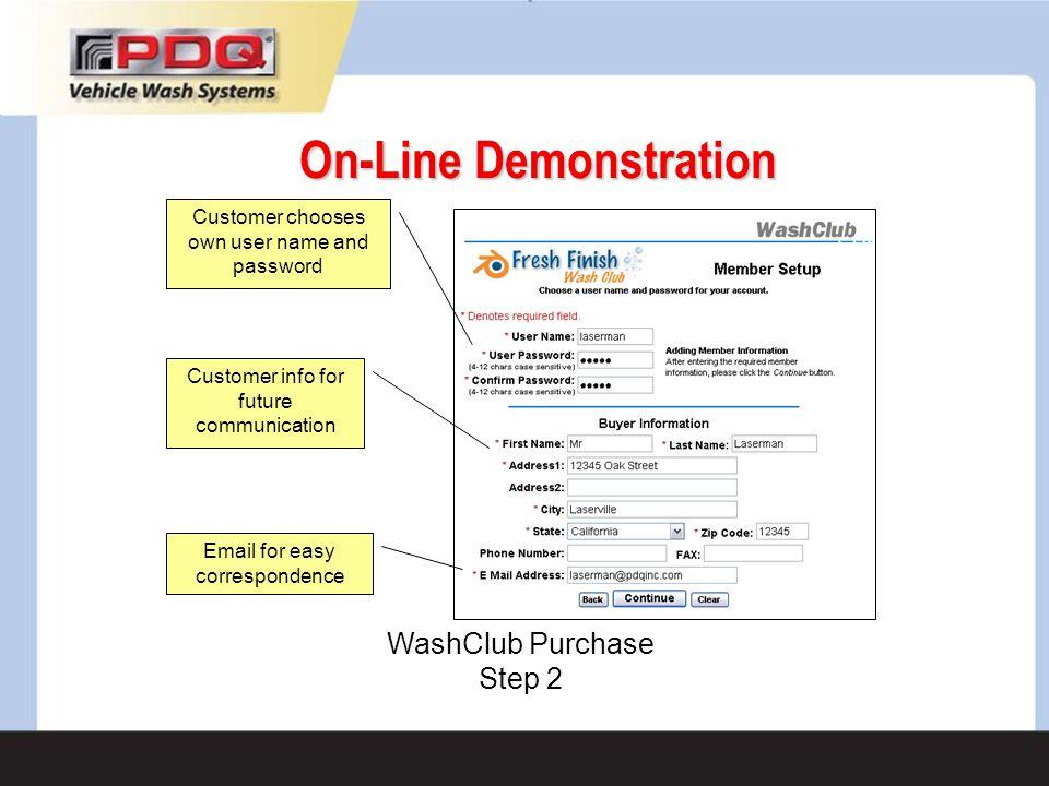 On-Line Demonstration