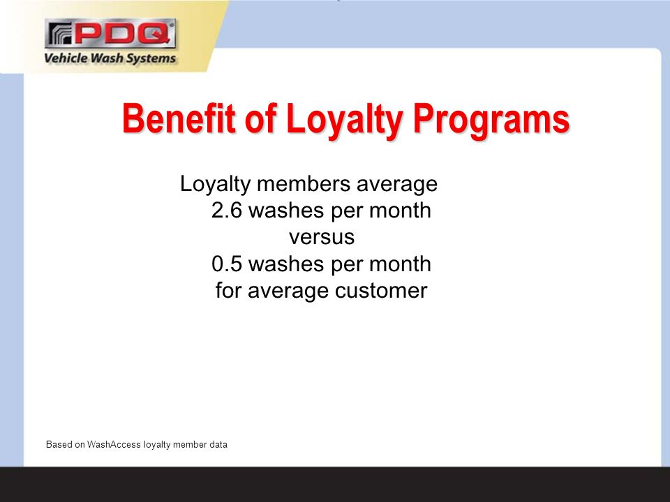 Benefit of Loyalty Programs