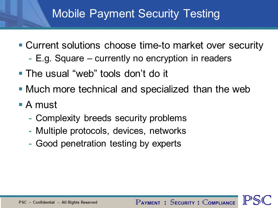 Mobile Payment Security Testing