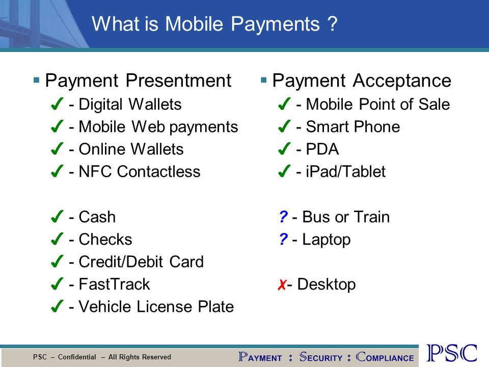 What is Mobile Payments