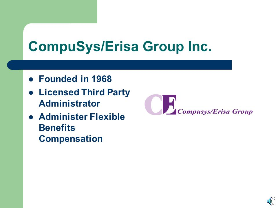 CompuSys/Erisa Group Inc.