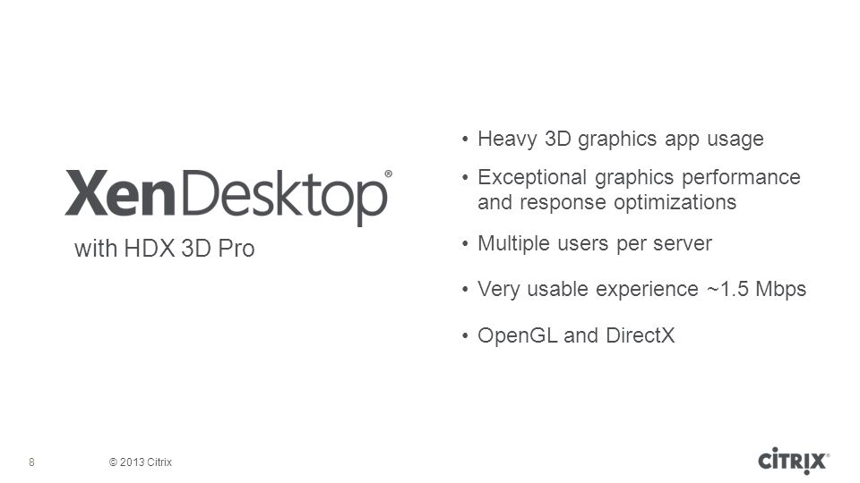 with HDX 3D Pro Heavy 3D graphics app usage