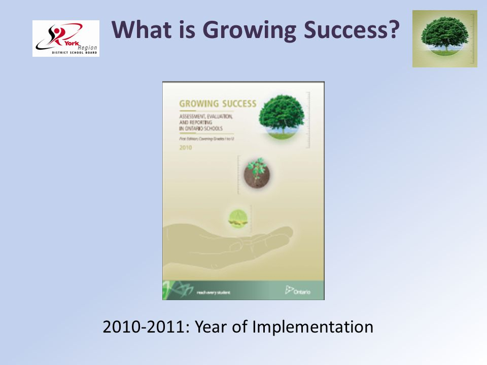 What is Growing Success