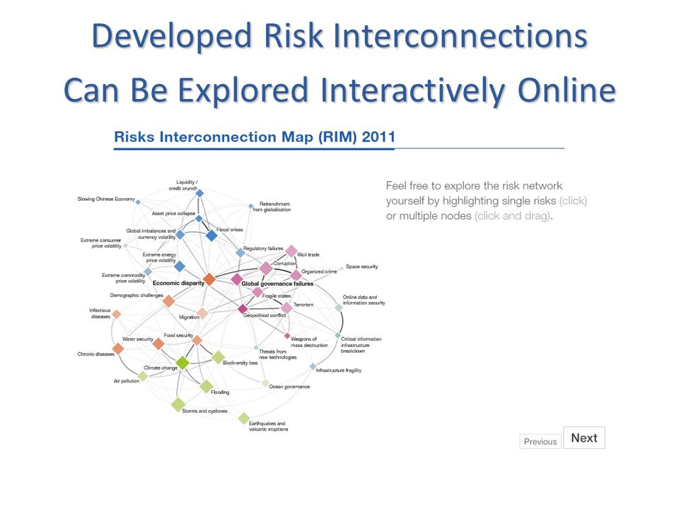 Developed Risk Interconnections Can Be Explored Interactively Online