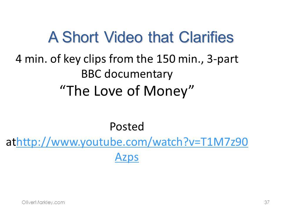 A Short Video that Clarifies