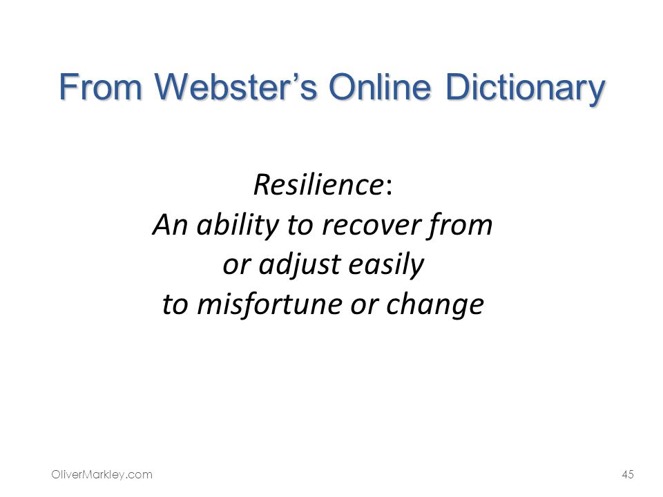 From Webster's Online Dictionary