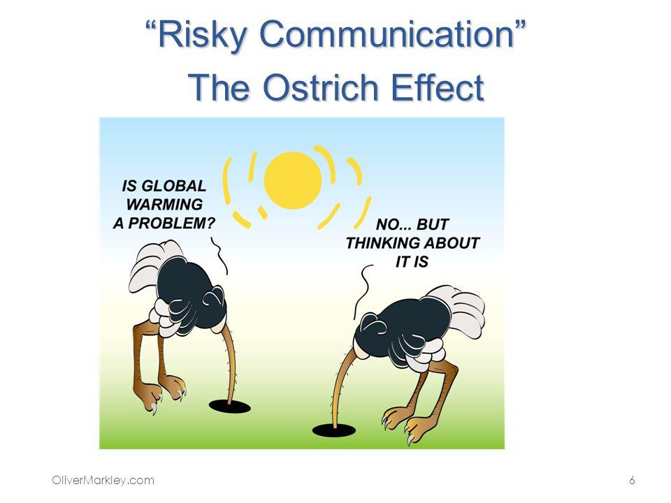 Risky Communication The Ostrich Effect