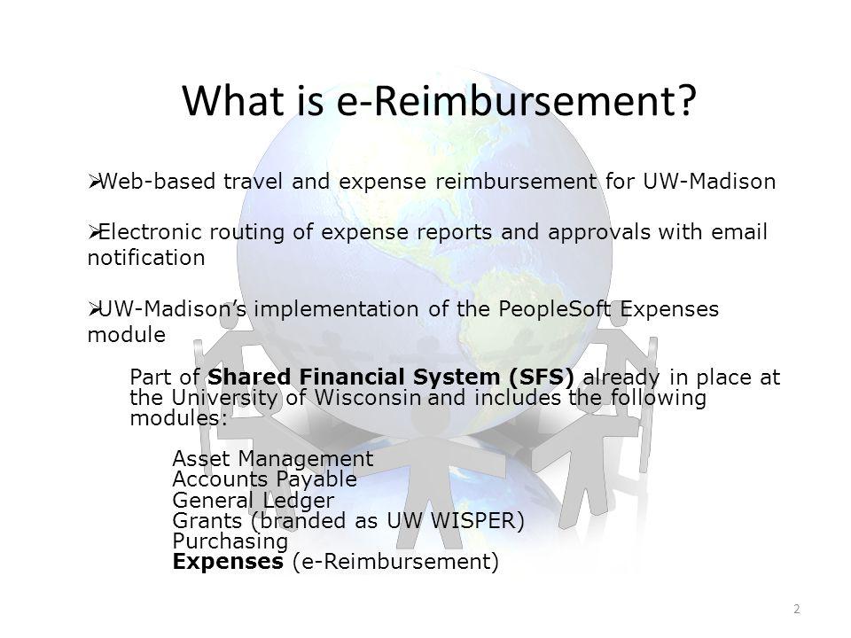 What is e-Reimbursement