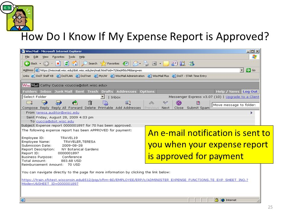 How Do I Know If My Expense Report is Approved