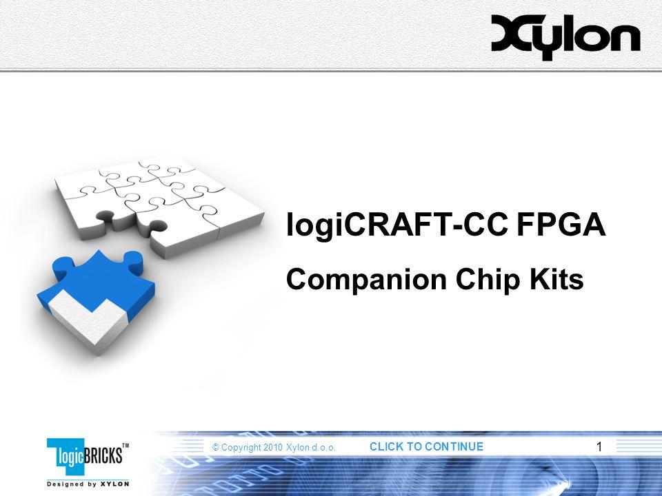 logiCRAFT-CC FPGA Companion Chip Kits 1 1