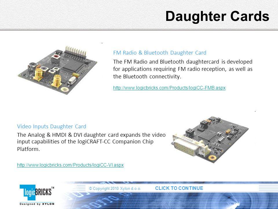 Daughter Cards FM Radio & Bluetooth Daughter Card