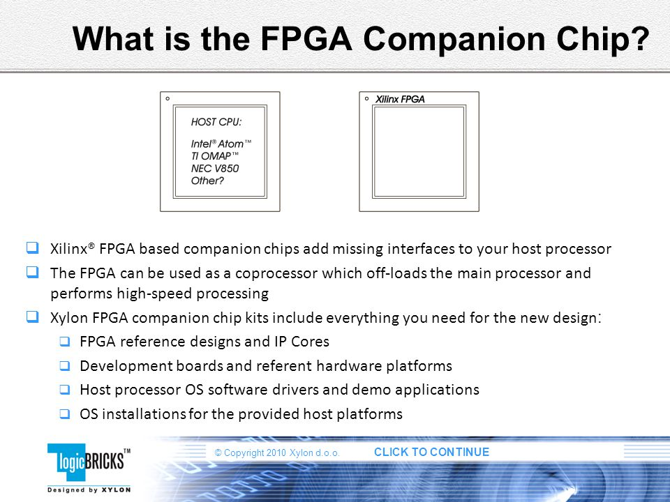 What is the FPGA Companion Chip