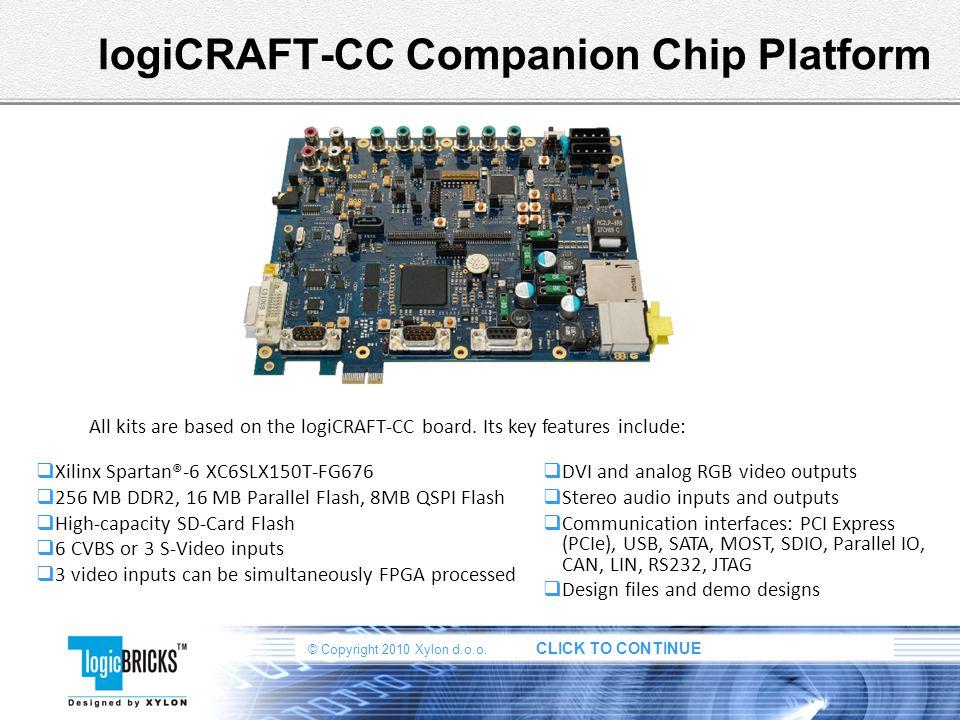 logiCRAFT-CC Companion Chip Platform