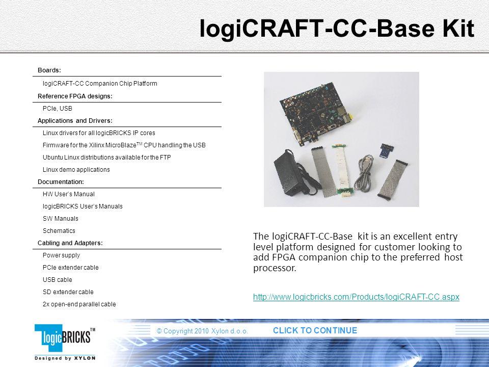 logiCRAFT-CC-Base Kit