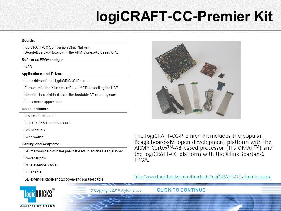 logiCRAFT-CC-Premier Kit