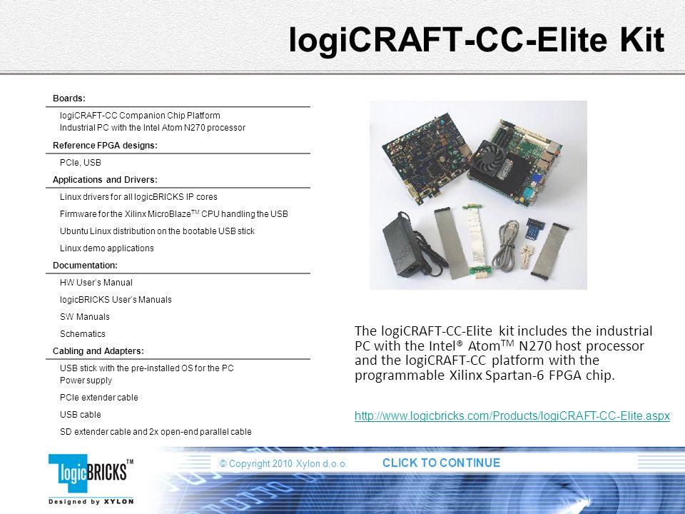 logiCRAFT-CC-Elite Kit