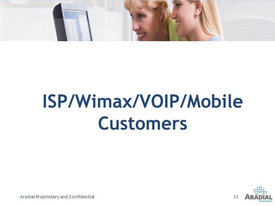 ISP/Wimax/VOIP/Mobile