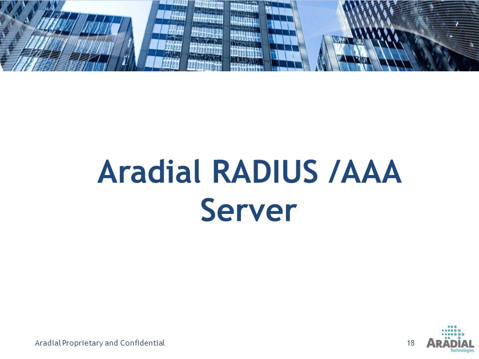 Aradial RADIUS /AAA Server